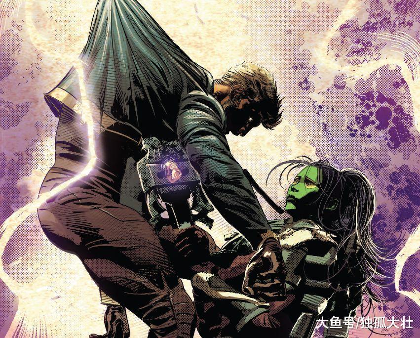 《无限战争》剑斩灭霸, 再杀星爵, 灭霸之女卡魔拉彻底黑化!