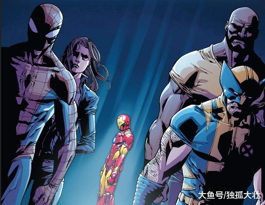 钢铁侠揭露X战警中有一个内奸, 超级英雄最大危机来临?