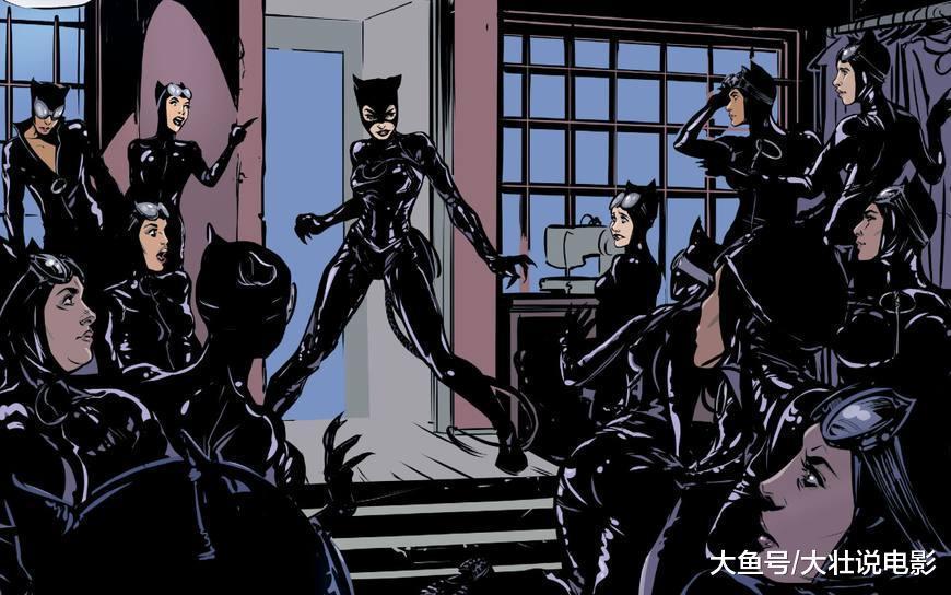 蝙蝠侠婚礼后续, 逃婚的猫女发现自己深陷迷局, 模仿者不断出现!