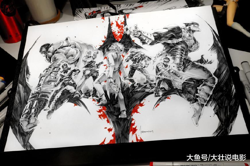 DC官方发售空白漫画, 24张白纸让粉丝自己画, 这操作无敌了!
