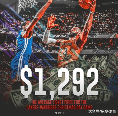 懦夫湖人还出开打, 便轰破NBA72年数录, 门票9千一张出钱实看不起