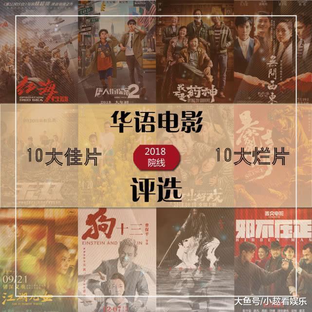 《药神》稳夺年度佳片冠军, 冯绍峰迪丽热巴被评烂片帝后!