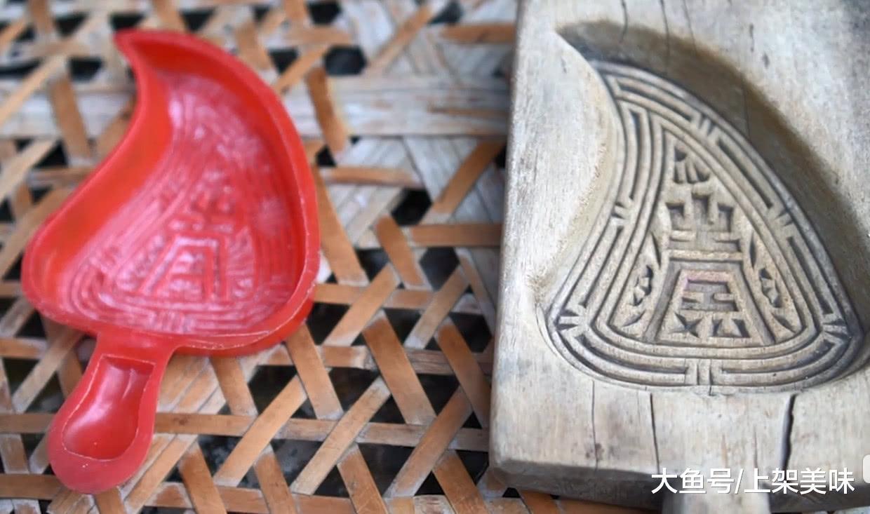 广东潮汕闻名小吃红桃粿, 做法和配方皆在那里, 年节必备您吃过出