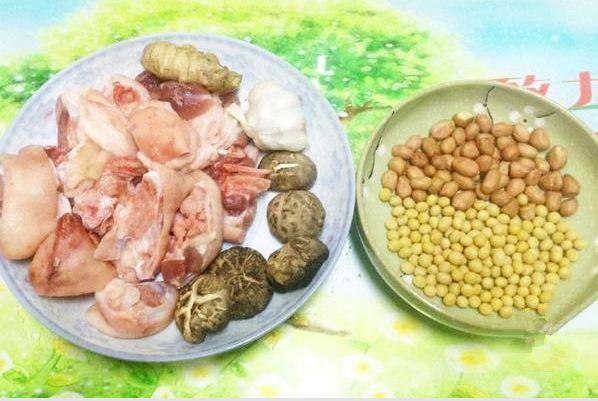 木兰味道――花生黄豆炖猪蹄