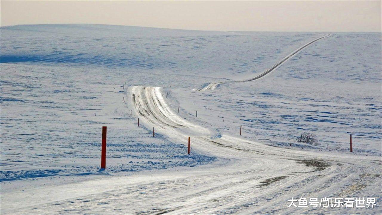 """齐球最""""热""""的公路:21年冻死17000人!被称之""""鬼魂之路"""""""