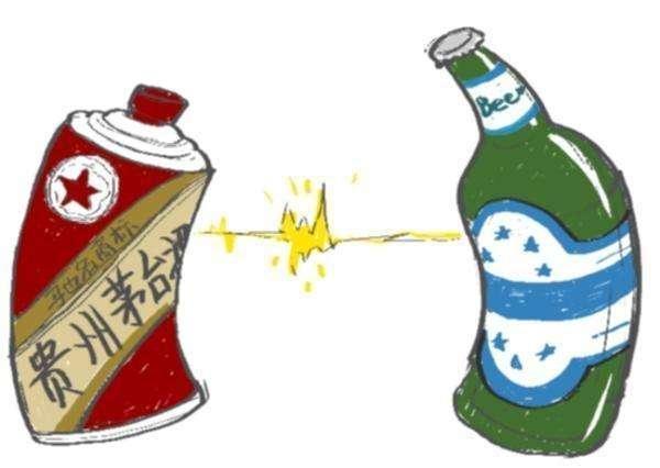 白酒+啤酒=他杀,两者绝不克不及同时喝!