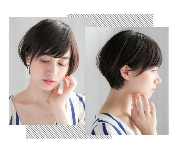 层次短发发型,通过多层次修剪让造型变蓬松有时髦感,日常打理也比较图片