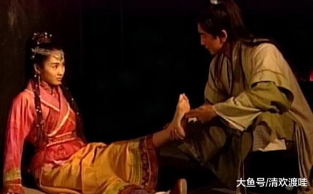 """金庸笔下三年夜""""恋足控"""":足疗巨匠张无忌,塞北痴汉游坦之,另有……"""