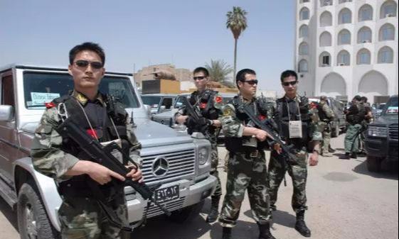 中国驻中年夜使馆是由中国武警珍爱吗?