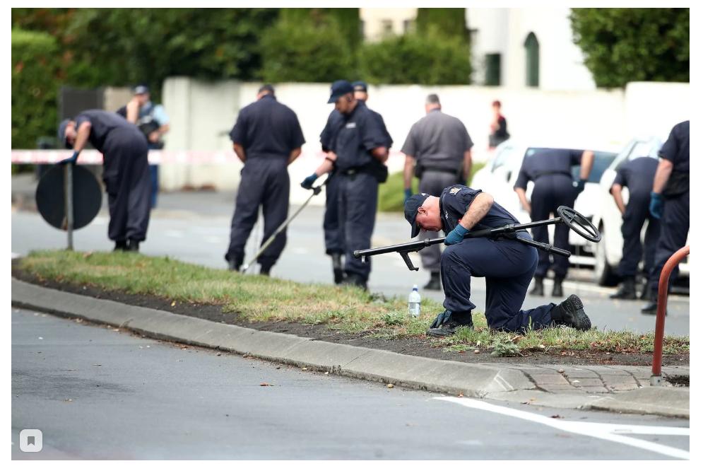 """""""让我们最先那个派对吧"""":新西兰枪脚令人发指的残杀暴止"""