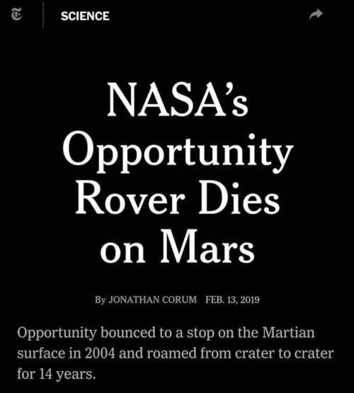 """呼唤800次无果,NASA宣布正式""""死亡""""!"""