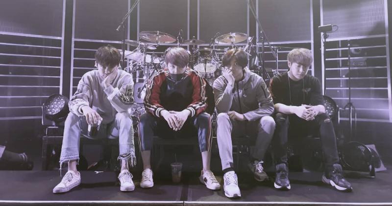 成为四人组后第一次FTIsland 对峙展开日本巡演!