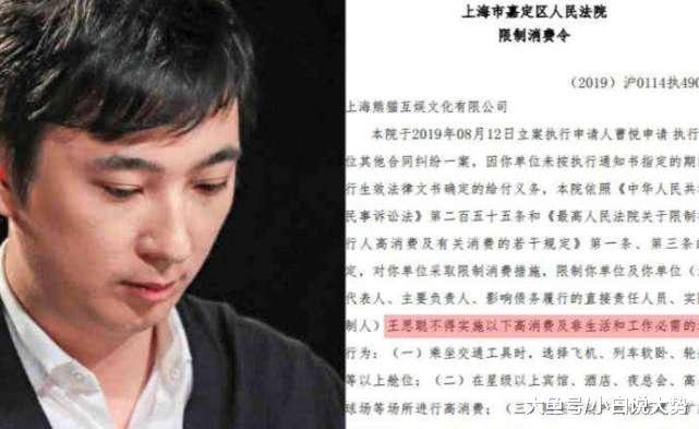 王思聪...369万人民币都还不起了?王健林:爸爸尽力了