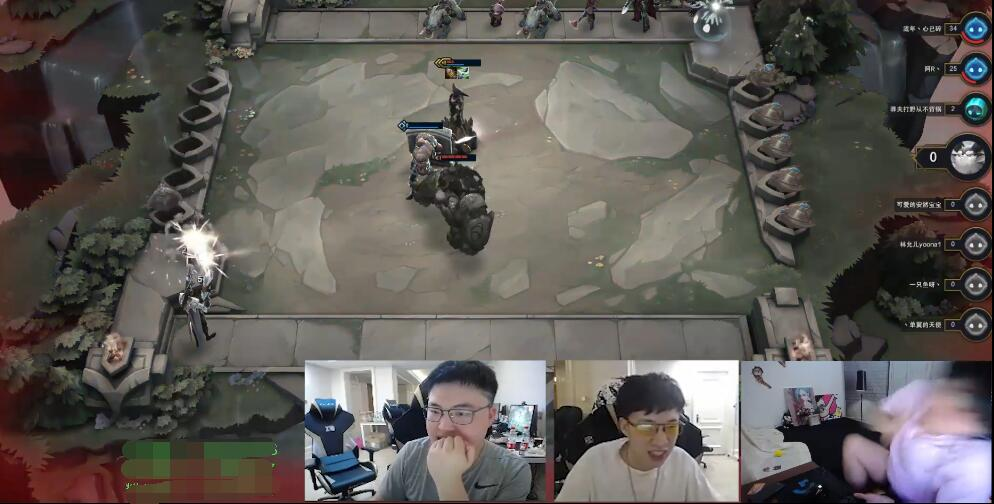 "RNG战队""虎狗锅明态""五排下棋,FPX洲际赛后直播大战RNG,声音吓到观众!"