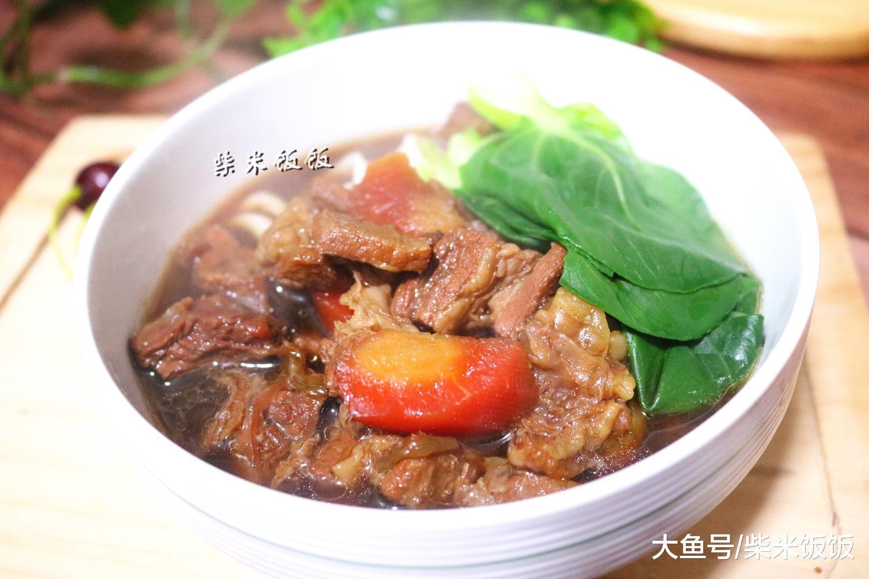 红烧牛肉里, 如许做太好吃, 每次一碗吃不敷, 比里面购的好吃!