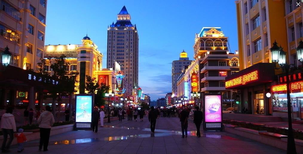 中国边境城市的俄罗斯美女中国男人并不是很心动