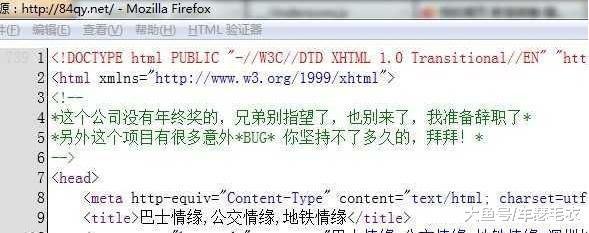 程序员神一般的代码注释, 没被打死真是奇迹!