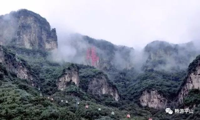 平山美景:太行名峰天桂山,金顶揽胜云海间