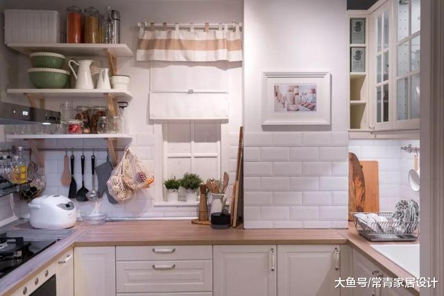 好看耐用的厨房就得这么装,连尺寸都给你标好了