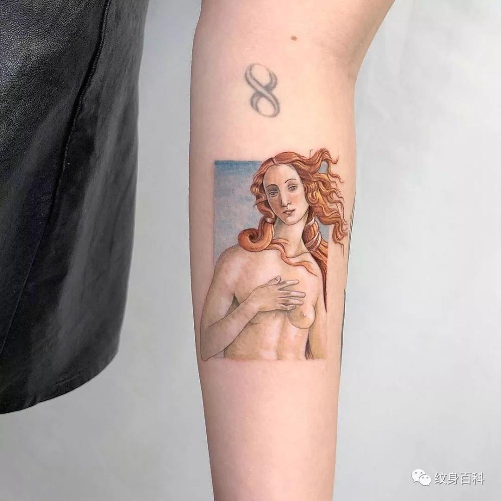 如此温顺的纹身,纹一个吧。