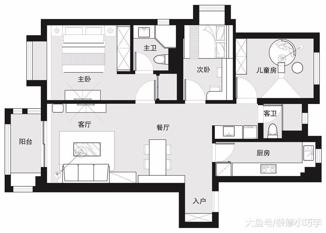 进住新房3个月,才知太真用,玄关做鞋柜,卧室做榻榻米,晒晒!