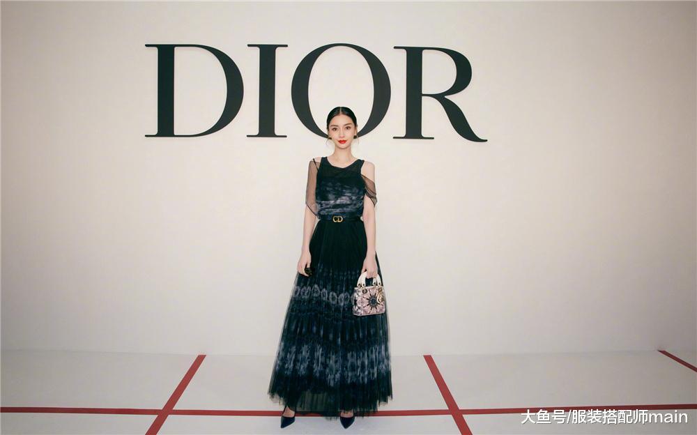 中韩三好齐散Dior秀场!杨颖冷傲杨采钰庄重,裴秀智的脸却变圆了