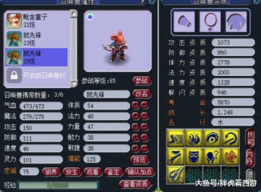 梦幻西游:放心套or植物套效果真测,宝图价钱飙至3.5万,9JN网红鼠去袭