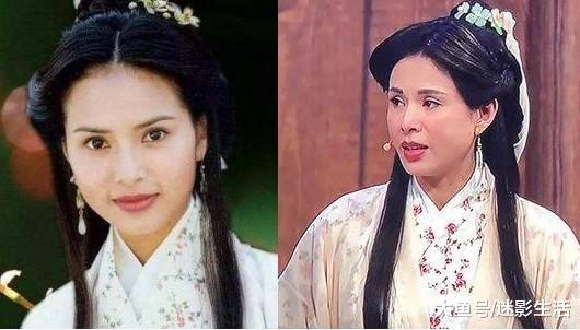 22年后《天龙八部》剧组重相散,李若彤眉眼间仍然有小龙女的影子