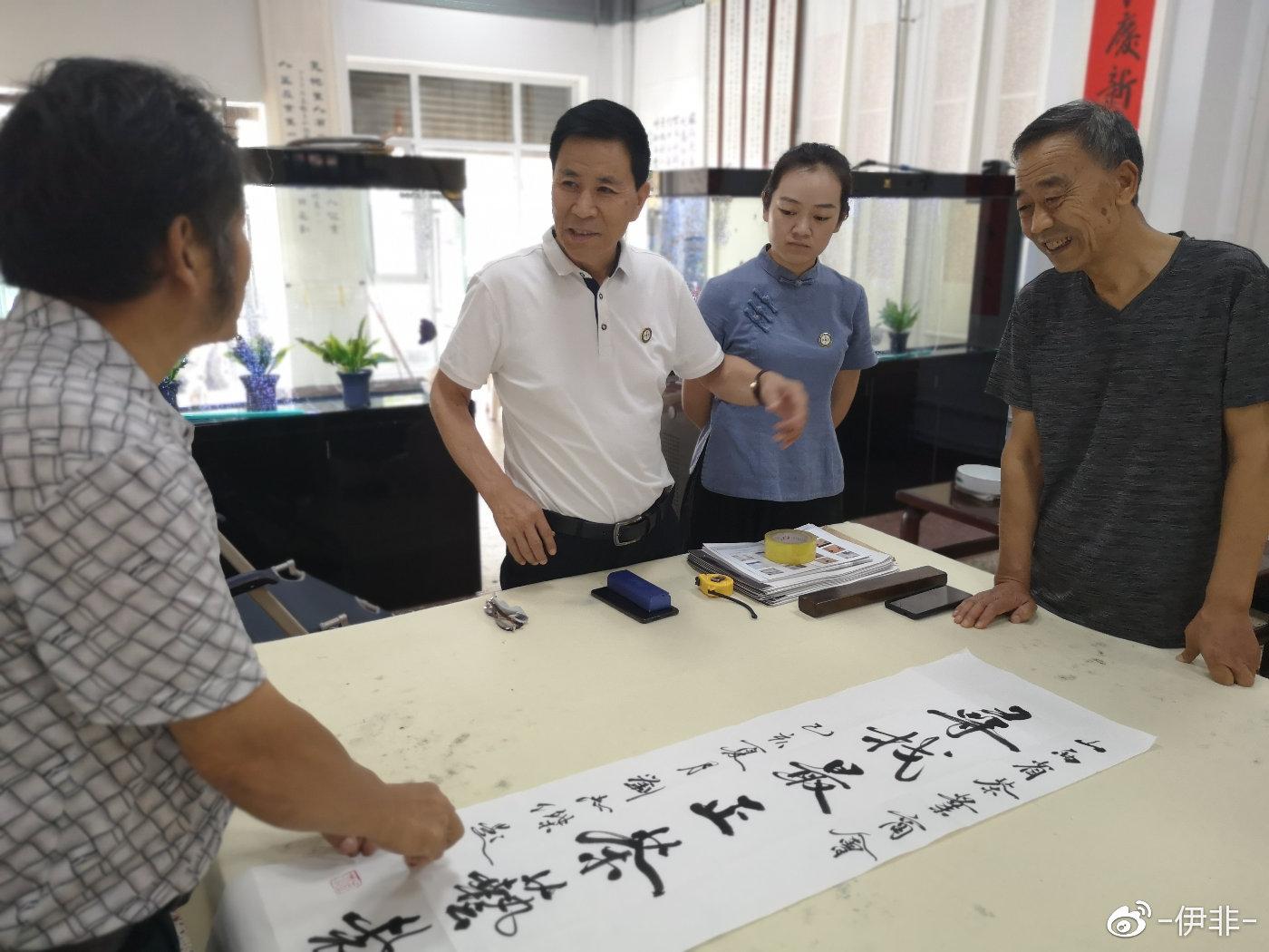 刘志杰:墨宝生辉助力二青会,他的书作遍及三晋大地