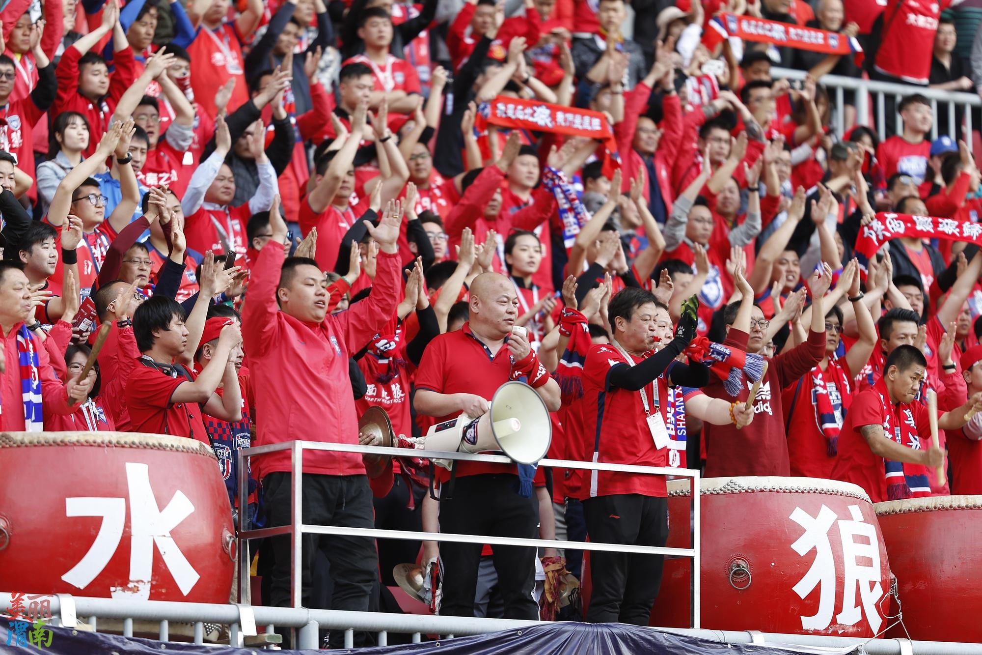 中甲联赛:3月23日陕西年夜秦之火队对阵浙江绿城队现场图集(上)