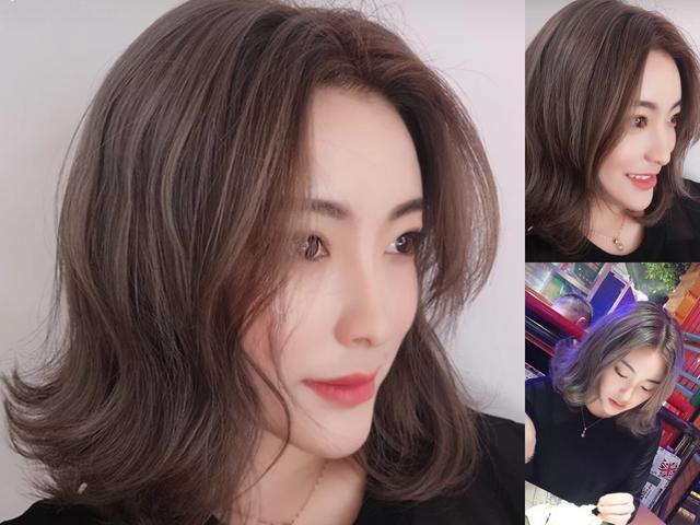 2019年最流行的6款烫发发型,每一款都很显脸小!图片