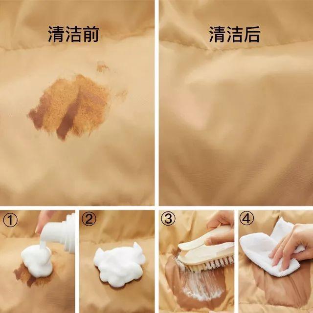 去购   羽绒服净了不消洗,用它喷一喷便清洁!