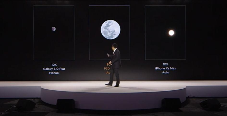 华为P30pro宣布之后,三星暗讽:您实的能拍到银河?