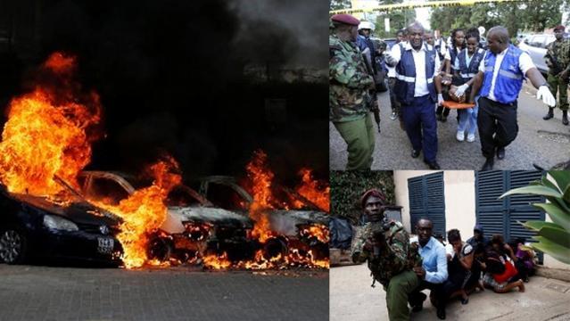 """""""肯僧亚恐袭""""枪脚袭内罗比酒店, 至少15死包孕英好国民"""