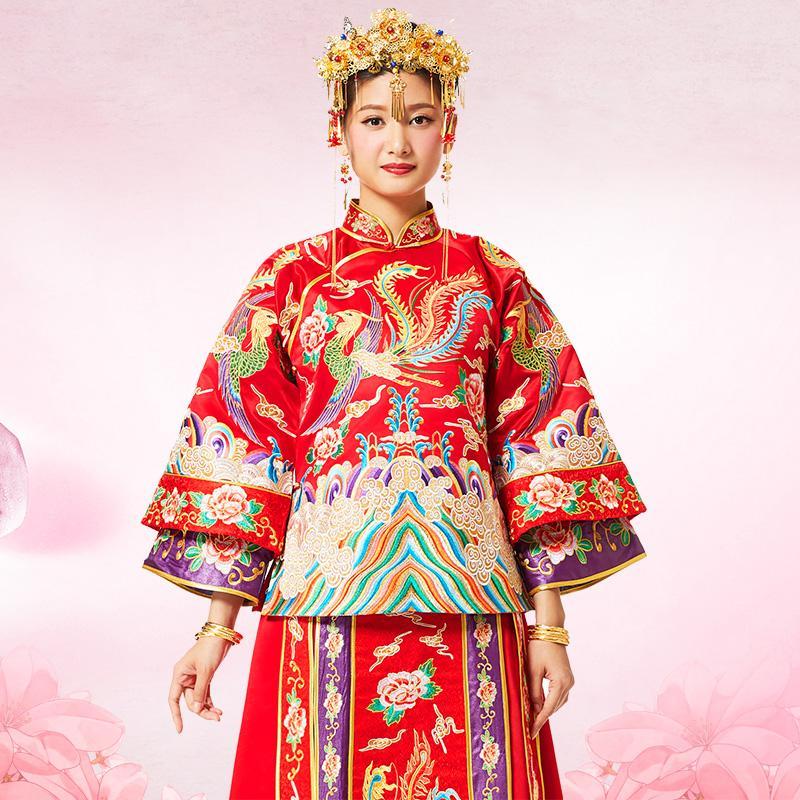 致敬中式嫁衣,古典新娘现荧屏
