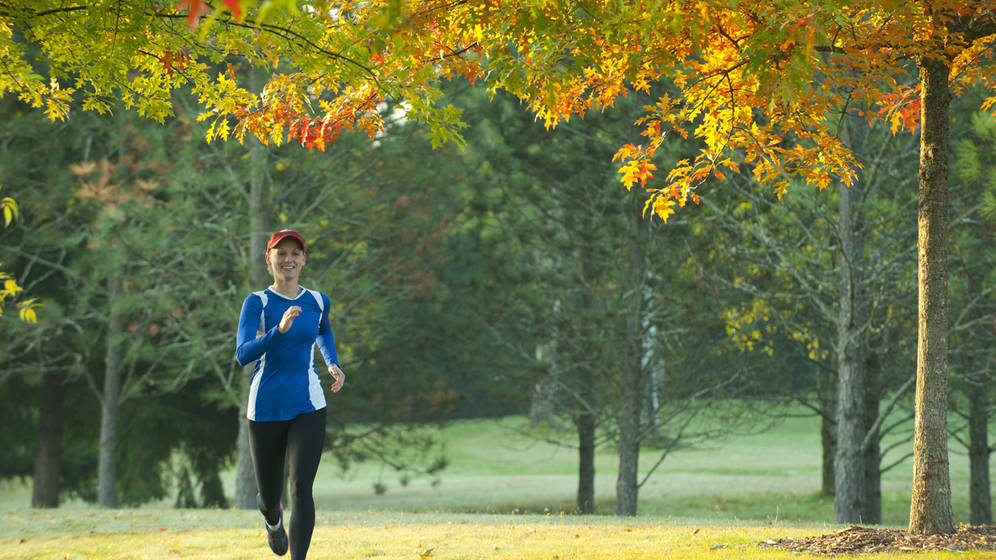 每天跑步,有助于过上安康的糊口,连结优越的糊口习惯