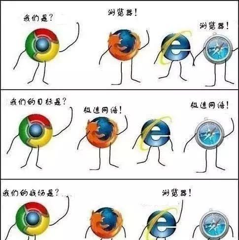 程序员眼中浏览器什么样?IE表示:有本事把我卸了!