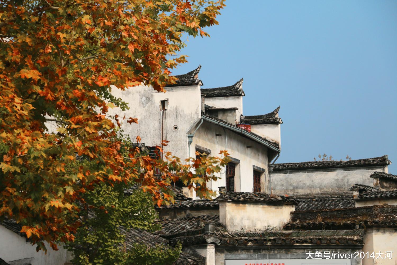 安徽最好的古镇之一,取宏村齐名,祖先从江西迁去已近千年