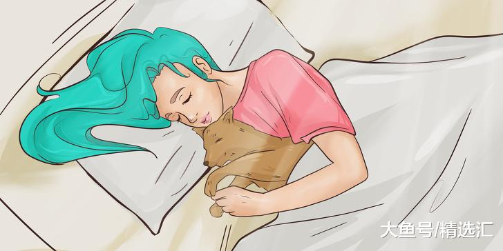 一项研究揭示:女性有宠物狗相伴睡觉要比伴侣相伴更好