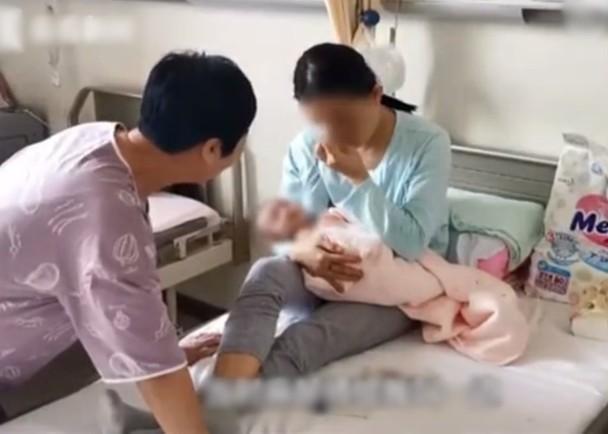女婴得了罕有遗传病齐身血红皮肤一碰即剥降