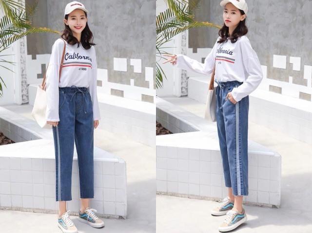 19年流行的3条裤子,小粗腿也可以驾驭,穿上身显瘦又时髦