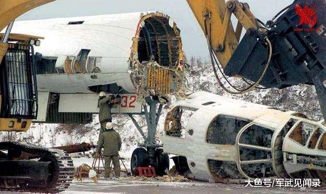 270吨重轰说拆就拆 配件被毁一干二净 大国:留1架放博物馆也不行