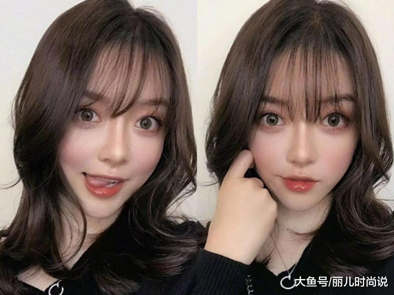 2019年最新的锁骨发发型,减龄显气质又瘦脸图片