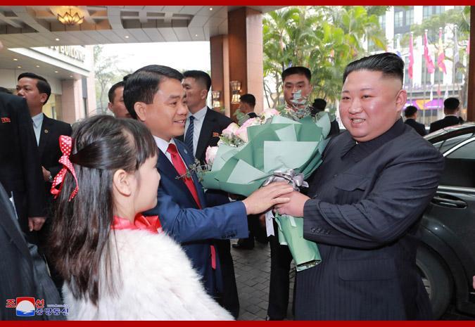 朝中社:金正恩将于3月1日至2日正式接见越北