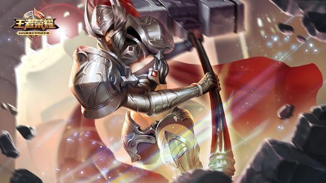 王者光荣: 王者之锤钟无素, 天真多变一锤定音