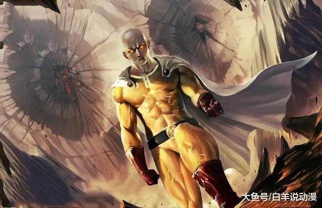 一拳超人:琦玉为何突破限制器,饿狼作为大反派,能突破限制器吗