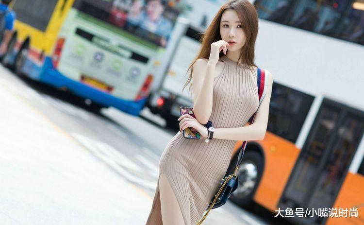 街拍:高挑长腿美女