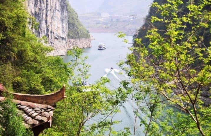十元钱人民币背面的风景,长江三峡风景名胜区绝对值得