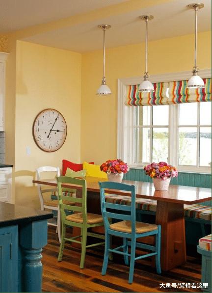 餐厅饭桌这样设计, 让你房子充满品味, 以后我家也这样装