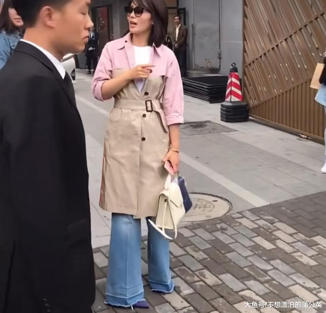 """刘涛那身妆扮给腿粗的人""""教授教养""""了,保热又时兴,穿对了很遮肉!"""